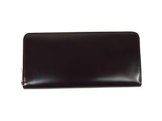 トワクレ トワクレ コードバン 長財布 チョコ  63TC33-21