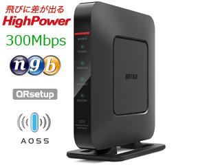 有線Giga Dr.Wi-Fiとインターネット設定の改善で 在庫処分 無線初心者でも安心 AirStaition エアステーション BUFFALO バッファロー 納期未定 WSR-300HP 無線LANルーター g 11n b対応 300Mbps お気に入り