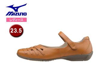 mizuno/ミズノ B1GH1665-55 ウォーキングシューズ セレクト420 レディース 【23.5cm】 (キャメル)