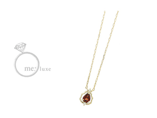 me.luxe/エムイーリュークス バースデーストーン 【1月】 ネックレス K10 お誕生日 誕生石 バースデー ネックレス ペンダント ジュエリー ジュエリー プレゼント ギフト 包装 記念日