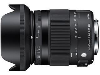 SIGMA/シグマ 18-200mm F3.5-6.3 DC MACRO HSM Contemporary ペンタックスマウント PENTAXマウント