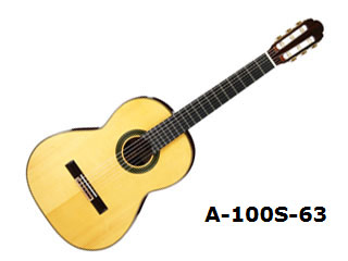 Aria/アリア A-100S-63 クラシックギター 【630mm】【ソフトケース付き】【ARIACG】 【沖縄・九州地方・北海道・その他の離島は配送できません】 【RPS160228】【配送時間指定不可】
