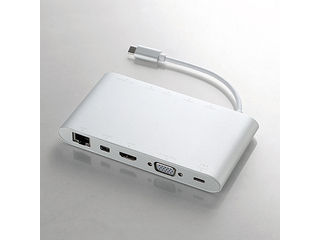 ELECOM/エレコム Type-Cドッキングステーション/PD対応/USB3.0×3/miniDisplayport DST-C01SV