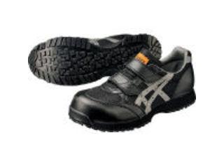asics/アシックス 静電気帯電防止靴 ウィンジョブE30S 黒×グレー 23.0cm FIE30S.907323.0