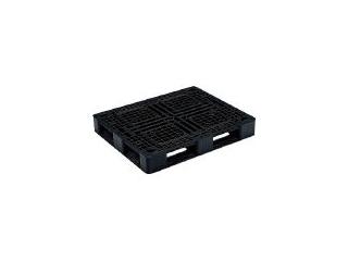 【組立・輸送等の都合で納期に4週間以上かかります】 GIFU/岐阜プラスチック工業 【代引不可】RISU/リス パレットJ-D4・1109 片面四方差 黒 J-D4-1109 BK