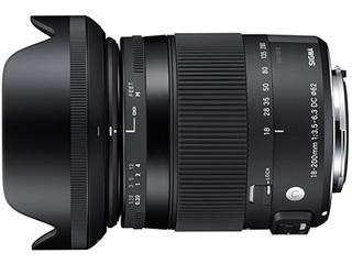 SIGMA/シグマ 18-200mm F3.5-6.3 DC MACRO HSM Contemporary ソニ-Aマウント Sony Aマウント