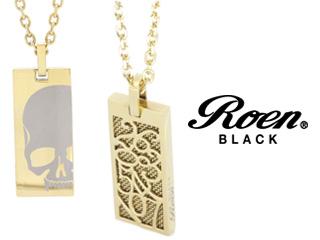 Roen BLACK/ロエンブラック rop-003 RoenBLACK パルファムナンバーネックレス 香水 パルファム ペンダント ネックレス アクセサリー ジュエリー スカル