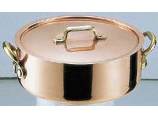 MARUSHIN/丸新銅器 SAエトール銅 外輪鍋/27cm