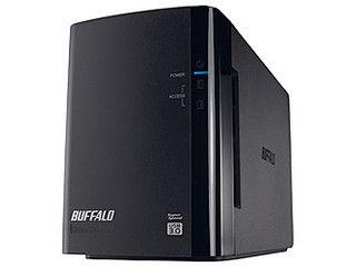 BUFFALO バッファロー USB3.0用 外付けハードディスク 2ドライブ 6TB HD-WL6TU3/R1J