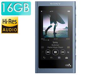SONY/ソニー NW-A55-L (ムーンリットブルー) 16GB ウォークマンAシリーズ(メモリータイプ) ヘッドホン付属なし