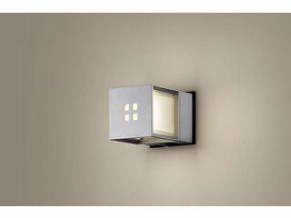 Panasonic/パナソニック LGWC85040SF LEDポーチライト シルバーメタリック【電球色】【明るさセンサ付】【壁直付型】