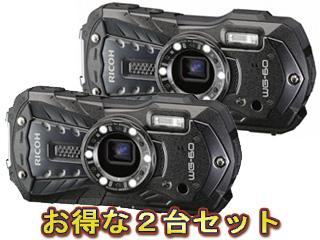 RICOH/リコー RICOH WG-60(ブラック)×2台セット【wg60set】