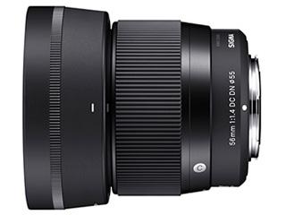 SIGMA/シグマ 56mm F1.4 DC DN Contemporary マイクロフォ-サ-ズマウント Micro Four Thirdsマウント/ミラーレス一眼カメラ専用レンズ