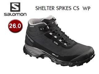 SALOMON/サロモン L39072800 SHELTER SPIKES CS WP ウィンターシューズ メンズ 【26.0】