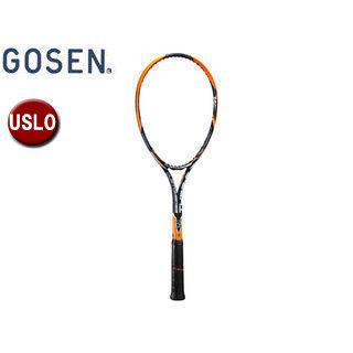 GOSEN/ゴーセン SRCETS ソフトテニス ラケットCUSTOMEDGE TYPE-S (フレームのみ) 【USL0】 (サンセットオレンジ)