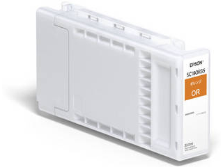 EPSON/エプソン SureColor用 インクカートリッジ/350ml(オレンジ) SC18OR35