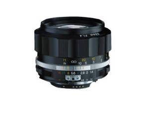 COSINA/コシナ 【納期3月以降】NOKTON 58mm F1.4 SL II S ブラックリム CPU内蔵ニコンAi-S互換 ノクトン フォクトレンダー
