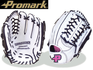 Promark/プロマーク PGS-3158 レディース用ソフトボールグローブ (ホワイト)