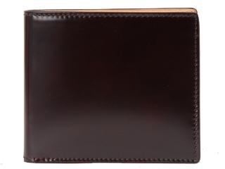 PID/ピー・アイ・ディー VASTO コードバンウォレット/二つ折り財布・本革 (チョコ) 25262