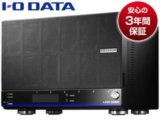 I・O DATA/アイ・オー・データ WD Red 6基&高速CPU搭載 仮想ファイルシステム「拡張ボリューム」採用高信頼ビジネスNAS 24TB HDL6-H24
