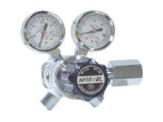 YAMATO/ヤマト産業 【代引不可】分析機用フィン付二段微圧調整器 NHW-1BL NHW1BLTRC
