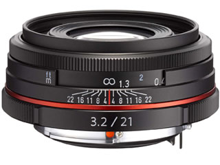 PENTAX/ペンタックス HD PENTAX-DA 21mmF3.2AL Limited(ブラック) 薄型広角レンズ pentaxlenscb2018