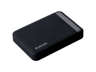 ELECOM/エレコム SeeQVault Portable Drive 1.0TB Black ELP-QEN010UBK