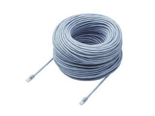 ELECOM/エレコム Cat6A LANケーブル 90m ブルー LD-GPAT/BU90/RS