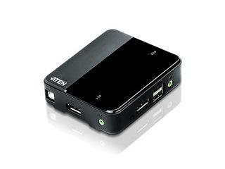 ATEN 2ポートUSB DisplayPort KVMスイッチ(4K UHD対応) CS782DP