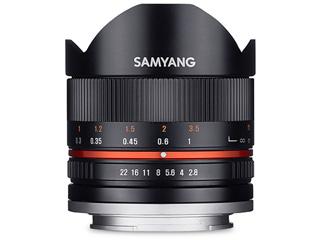 【納期にお時間がかかります】 SAMYANG/サムヤン 8mm F2.8 UMC FISH-EYE II (ブラック) キヤノンM用 ※受注生産のため、キャンセル不可 【受注後、納期約2~3ヶ月かかります】【お洒落なクリーニングクロスプレゼント!】 魚眼レンズ