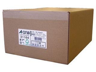 A・one エーワン レーザープリンタラベル 10面 1000シート入 31164