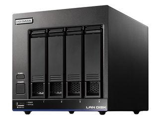 I・O DATA/アイ・オー・データ LinuxベースOS搭載 WD Red採用法人向け4ドライブスタンダードビジネスNAS 4TB HDL4-X4