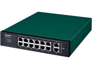 パナソニックESネットワークス 【キャンセル不可】10/100/1000Mbps 14ポート スイッチングハブ GA-AS12T 5年先出センド保守 PN25121B5