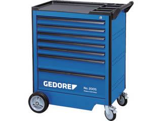 GEDORE/ゲドレー 【代引不可】ツールトローリー 引出7段 67x5 137x1 207x1 1803018
