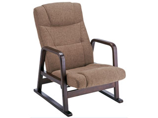 MIYATAKE/宮武製作所 【背もたれのみ取付】高座椅子(ブラウン) YS-1508BR