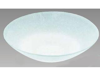 JOETSU/上越クリスタル硝子 硝子和食器若草 40センチ盛皿