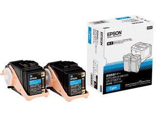 EPSON/エプソン LP-S7160シリーズ用 環境推進トナー/シアン/Mサイズ2本パック(印刷可能ページ:約5300) LPC3T33CPV