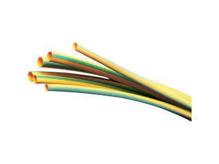 Panduit/パンドウイットコーポレーション 熱収縮チューブ イエローグリーン (5本入) HSTT100-48-545