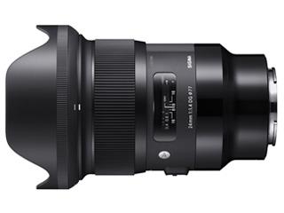 SIGMA/シグマ 24mm F1.4 DG HSM Art ソニ-Eマウント Sony Eマウント