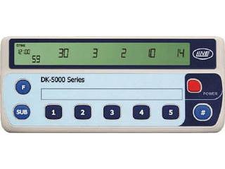 LINE/ライン精機 電子数取器 5連式 DK-5005A