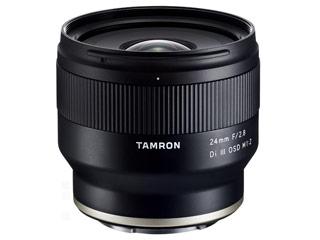 TAMRON/タムロン 24mm F/2.8 Di III OSD M1:2 (Model F051)  広角単焦点レンズ ソニーEマウント用