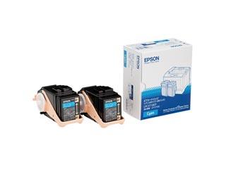 EPSON/エプソン LPC3T18CP LP-S7100用 トナーカートリッジ/シアン/Mサイズ×2個 納期にお時間がかかる場合があります