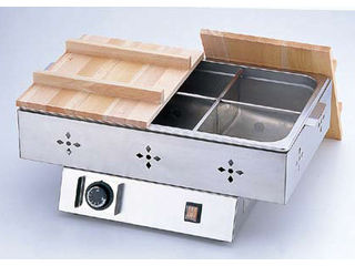 【沖縄県及び離島には配送できません】 Total Kitchen Goods 【TKG】業務用 電気おでん鍋 6ッ切