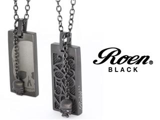 Roen BLACK/ロエンブラック rop-102 RoenBLACK パルファムナンバーネックレス 香水 パルファム ペンダント ネックレス アクセサリー ジュエリー スカル