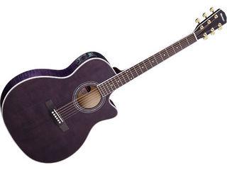 Morris/モーリス R-601 SBK (シースルーブラック) ソフトケース付き! エレアコギター(R601SBK) 【アコギ】 【morris201501】