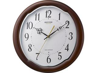※メーカー在庫限りの為、完売の際はご容赦下さい。 RHYTHM/リズム時計 【メーカー在庫限り】8MY513SR06 【フィットウェーブアヤW】 電波掛け時計