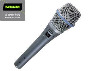 SHURE/シュアー BETA 87A (BETA 87A-X) ボーカル用コンデンサーマイクロフォン(指向性:スーパーカーディオイド) 【正規品】