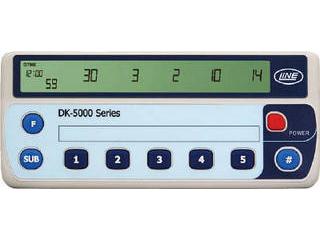 LINE/ライン精機 電子数取器 5連式 DK-5005B