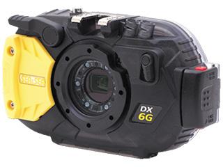 SEA&SEA/シーアンドシー 06666 DX-6G カメラハウジングセット マクロリングディフューザーをハウジングに標準装備