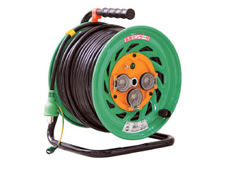 NICHIDO/日動工業 防雨型電工ドラム50M FW-E53